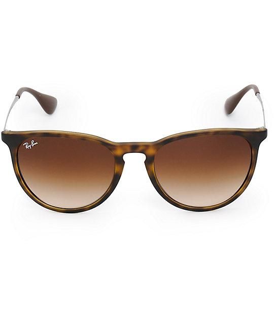 ray ban erika havana brown polarized sunglasses zumiez. Black Bedroom Furniture Sets. Home Design Ideas