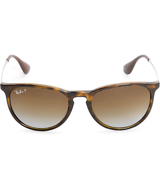 ray ban erika havana tortoise polarized sunglasses zumiez. Black Bedroom Furniture Sets. Home Design Ideas
