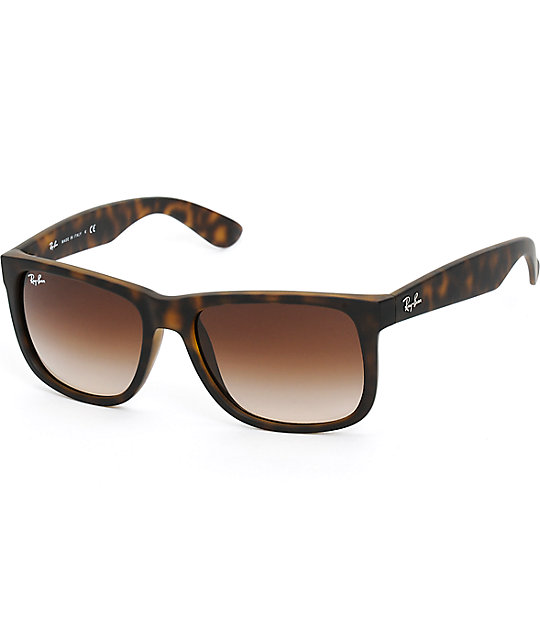 Tortoise Print Sunglasses  ray ban justin havana tortoise s sunglasses at zumiez pdp