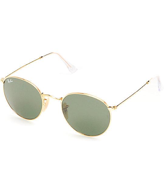 ray ban lennon  Ray-Ban Lennon Round Sunglasses at Zumiez : PDP