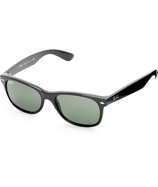 Ray Ban New Wayfarer Sunglasses  ray ban new wayfarer black sunglasses at zumiez pdp
