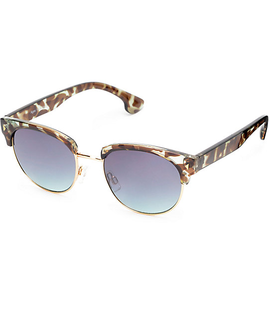 Rayna Green Tortoise Sunglasses