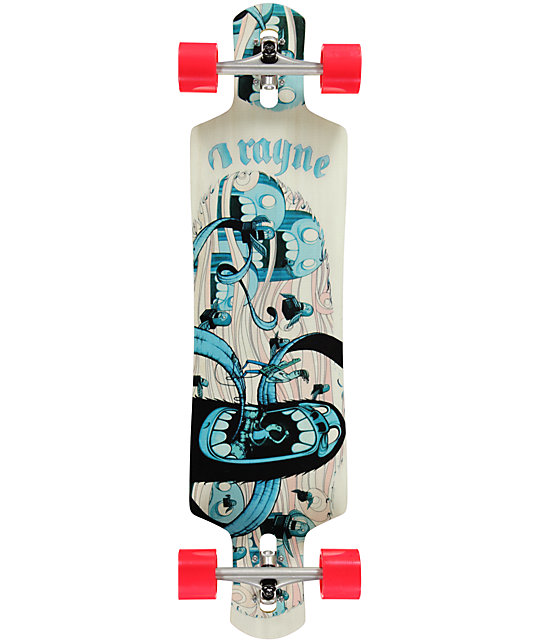 "Rayne Vendetta 40"" Drop Through Longboard Complete at ..."