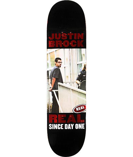 "Real Brock Collectors Edition 8.06""  Skateboard Deck"