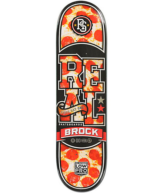 "Real Brock Hot N Ready 8.4""  Skateboard Deck"
