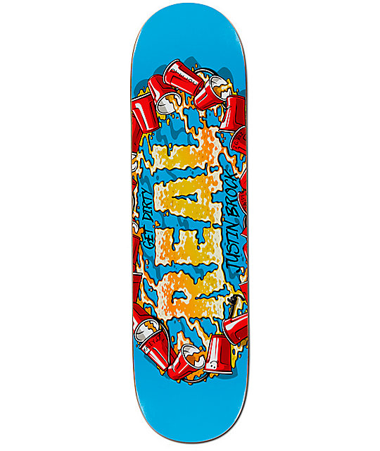 "Real Brock Kegger 8.25""  Skateboard Deck"