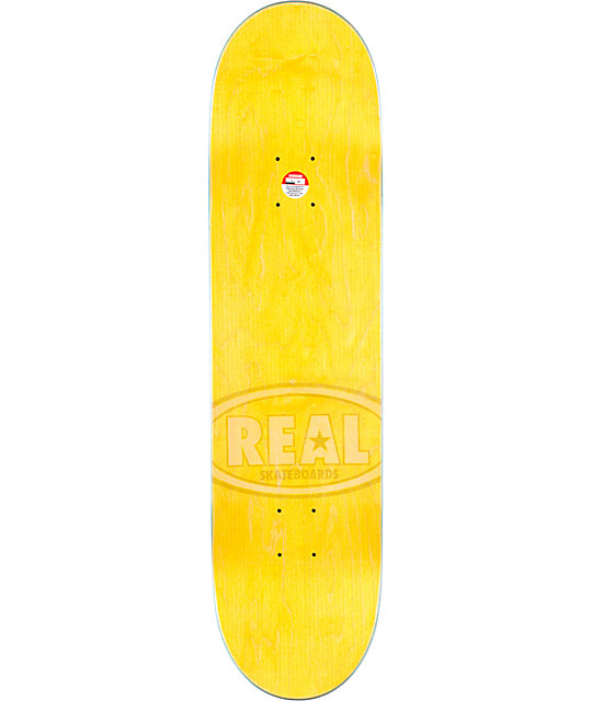 "Real Brock Made For Everywhere R1 8.18""  Skateboard Deck"