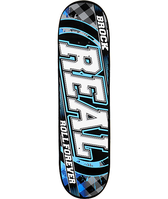 "Real Brock Roll Forever R1 8.38""  Skateboard Deck"