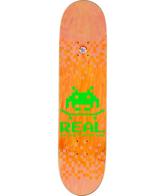 "Real Brock The Games Never Over 8.18""  Skateboard Deck"