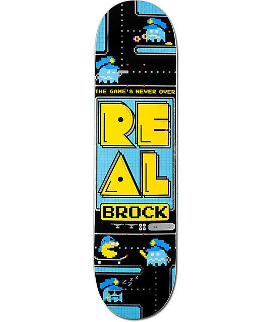 "Real Brock The Games Never Over 8.18""  Skateboard Deck"