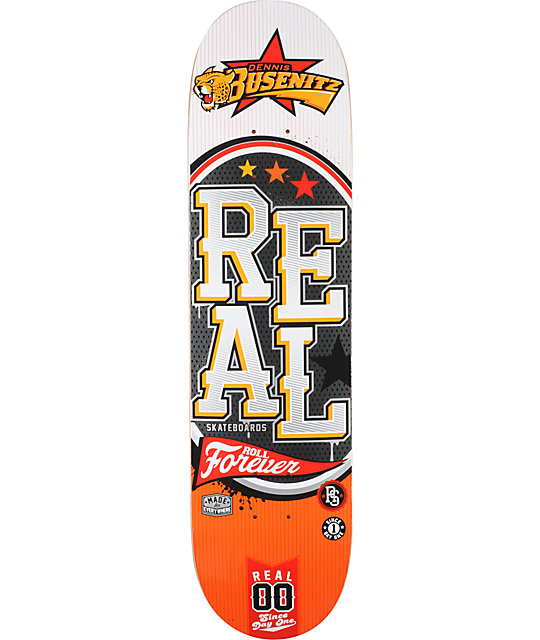 "Real Busenitz Big League R1 8.06""  Skateboard Deck"