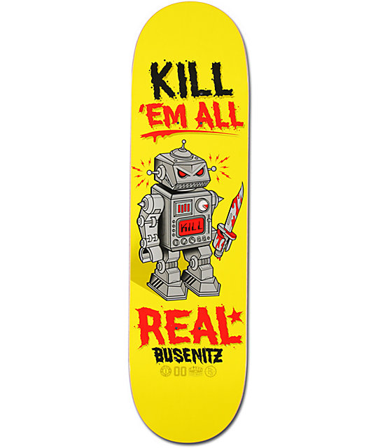 "Real Busenitz Killbot 8.38""  Skateboard Deck"