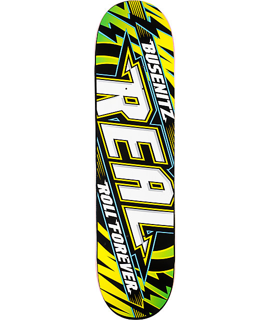 "Real Busenitz Made For Everywhere R1 8.12""  Skateboard Deck"
