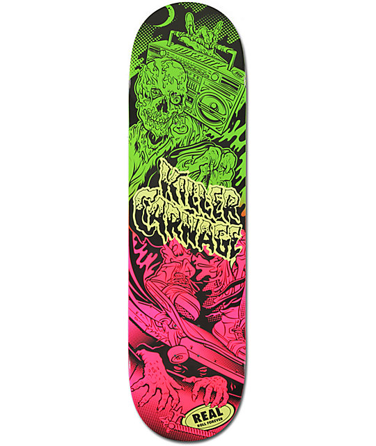 "Real Busenitz Psycho Block 8.25""  Skateboard Deck"