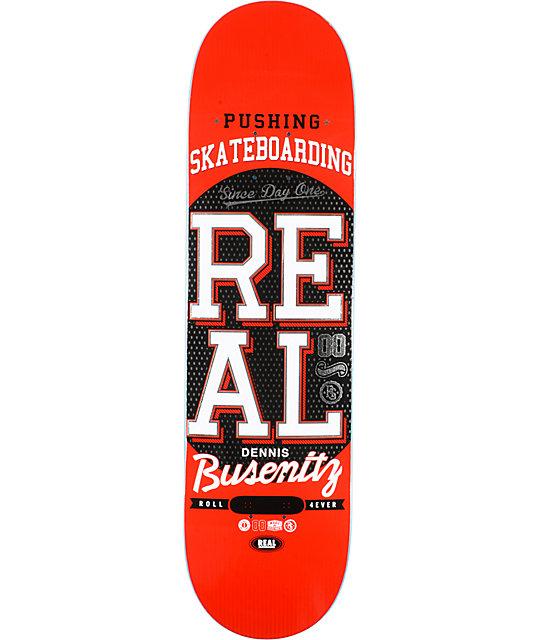 Real Busenitz Pushing R1 8.25
