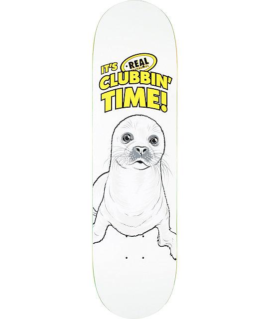 "Real Clubbin Time R1 8.38""  Skateboard Deck"