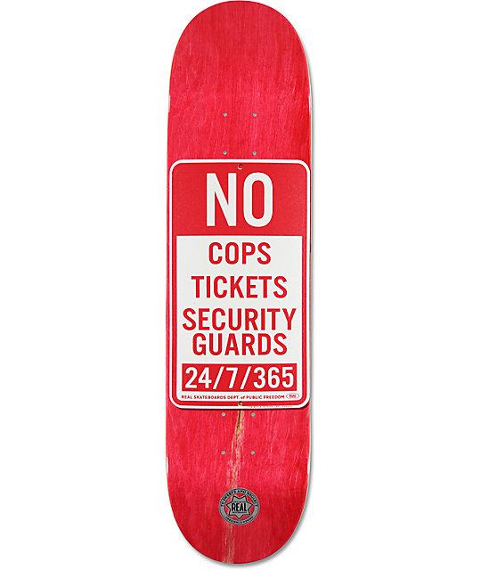 "Real Enforcement Prohibited 8.06""  Skateboard Deck"