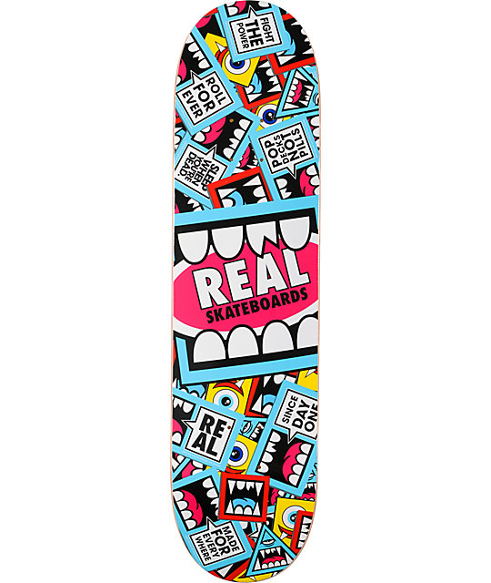 "Real Greg Mike Sticker 8.06""  R1 Construction Skateboard Deck"