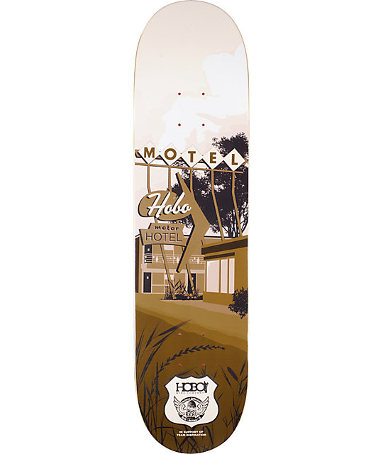 "Real Hobo Hotel 8.06""  Actions Realized Skateboard Deck"