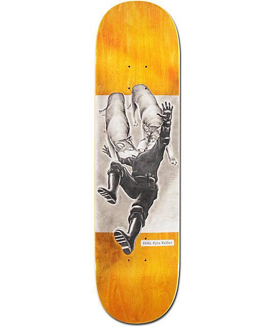 """Real Kyle Revolt 8.25"""" Skateboard Deck"""