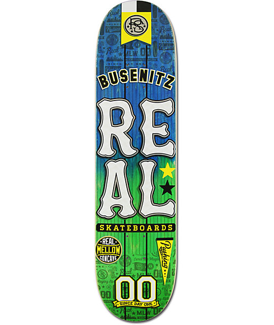 "Real Mellow Busenitz 8.06""  Skateboard Deck"