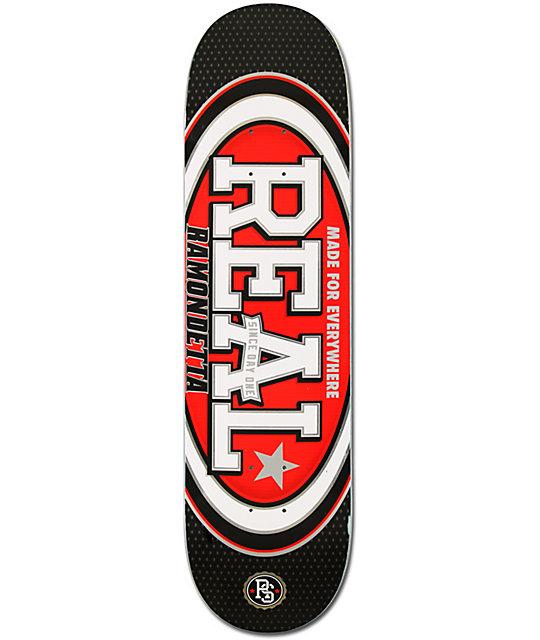 "Real Ramondetta Champion Oval 8.25""  Skateboard Deck"
