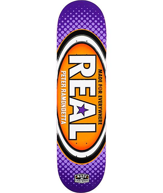 "Real Ramondetta Made For Everywhere R1 8.125""  Skateboard Deck"
