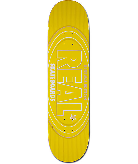 "Real Renewal Oval 8.06"" Skateboard Deck"