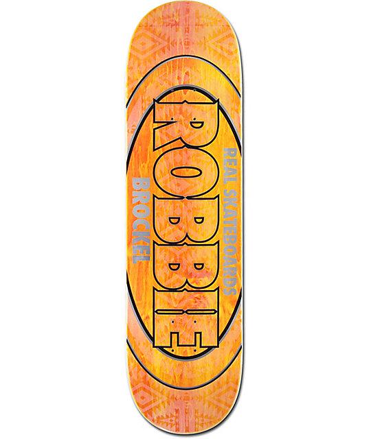 "Real Robbie Pro Oval 8.5"" Skateboard Deck"