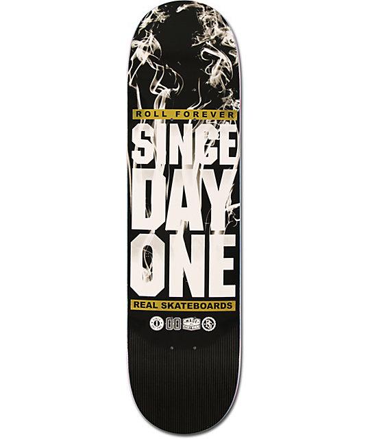 "Real Since Day One Smoke 8.12""  Skateboard Deck"