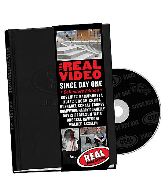 Real Skateboards The Real Video Since Day One DVD