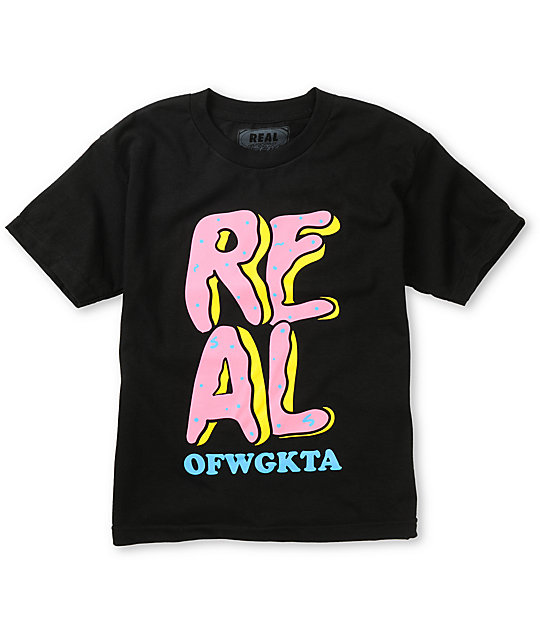Real Skateboards x Odd Future Donut Boys T-Shirt