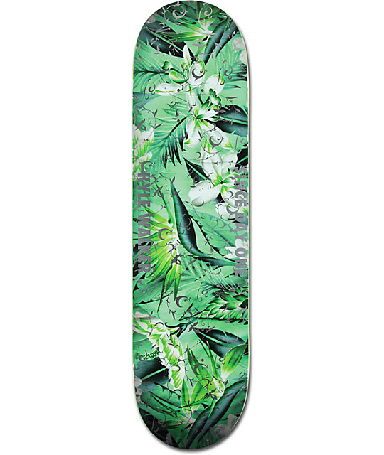 "Real Walker Fresh Cut Embossed 8.18""  Skateboard Deck"