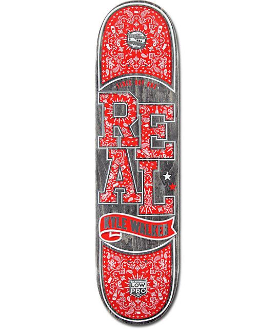 """Real Walker Paisley Low Pro II 8.06""""  Skateboard Deck"""