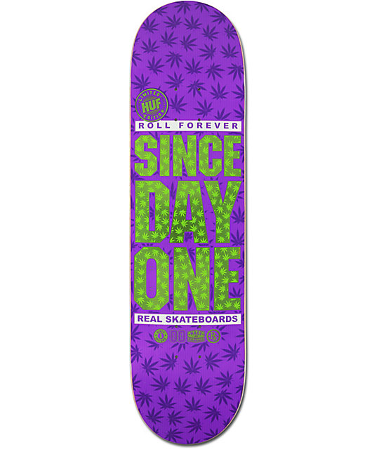"Real x HUF Since Day One 8.25""  Skateboard Deck"