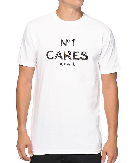 Reason no 1 cares text t shirt for Photo t shirts with text