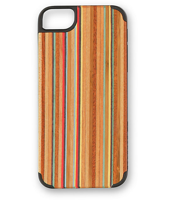 Recover Skateboard Wood iPhone 5 & 5s Case