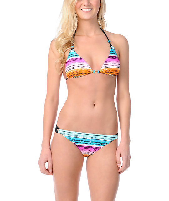 Reef Beach Cruise Stripe Bikini Bottom