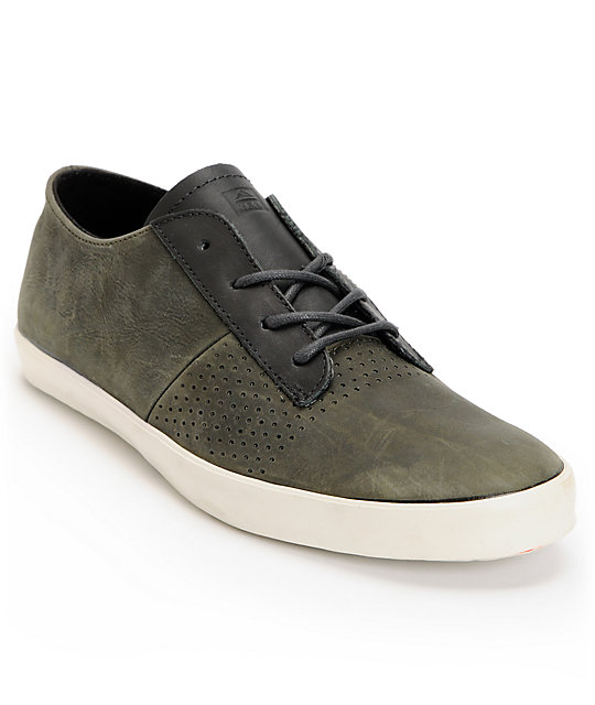 Reef Cloudbreak Grey Leather Shoes