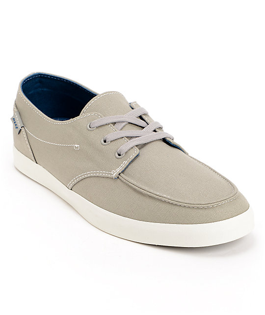Reef Deck Hand 2 Light Grey Boat Shoes