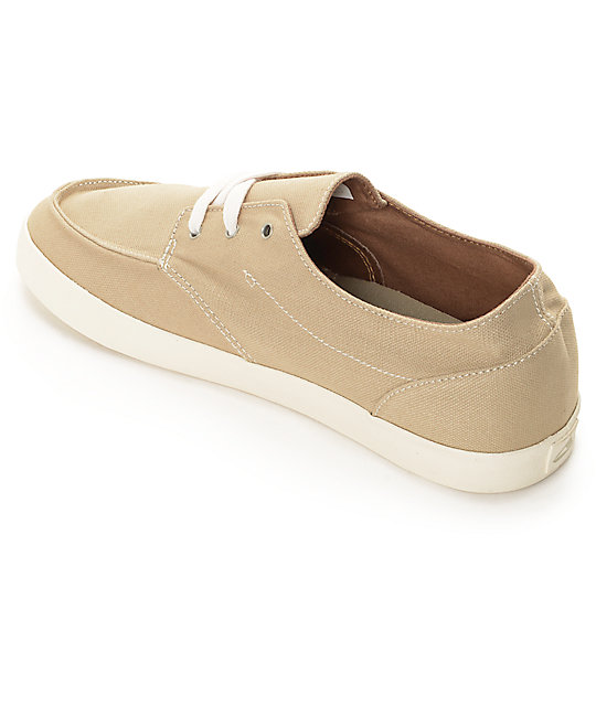 Reef Deck Hand 2 Tan & White Shoes