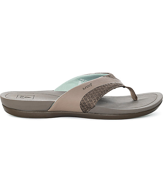 Reef Energy Taupe & Grey Sandals