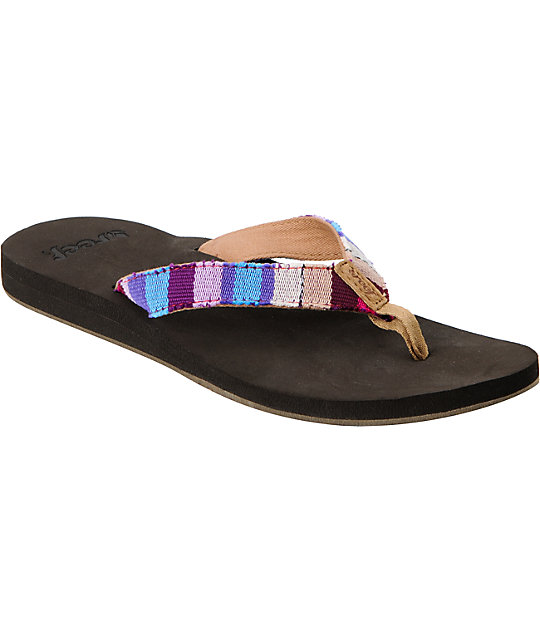 Reef Guatemalan Love Brown Sandals