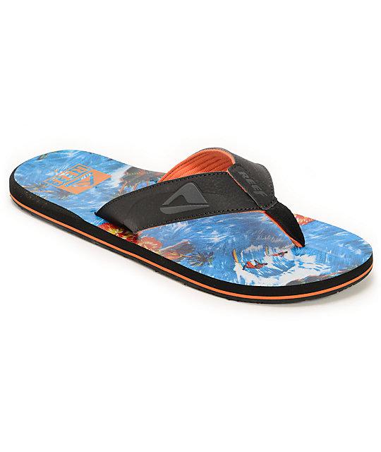 297b80cc7e26 Reef HT Prints Hawaiian Tropic Sandals at Zumiez   PDP