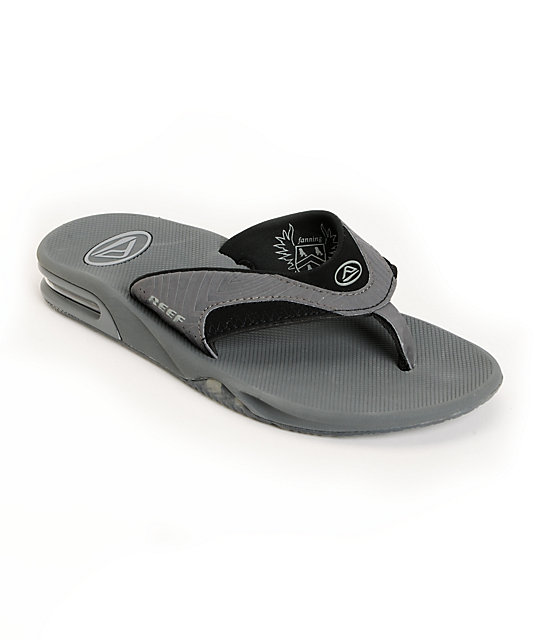 Reef Mick Fanning Prints Silver Zebra Sandals