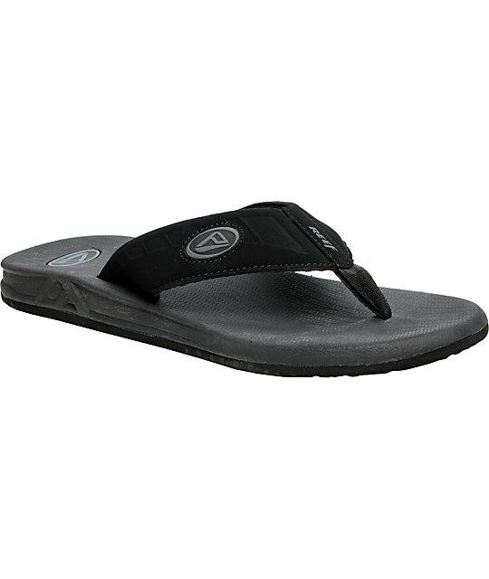 Reef Phantom Black Sandals