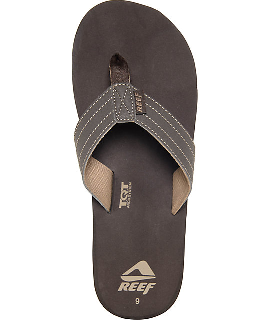 Reef Quencha Brown & Gum Sandals