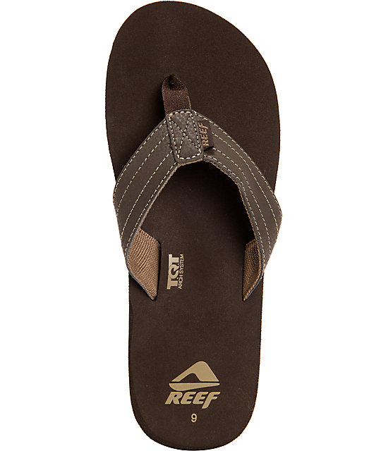 Reef Quencha TQT Brown Sandals