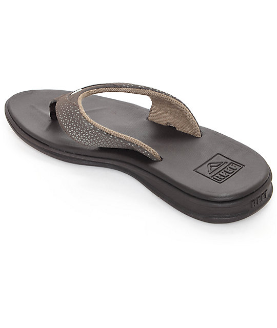 Reef Rover Brown & Gum Sandals