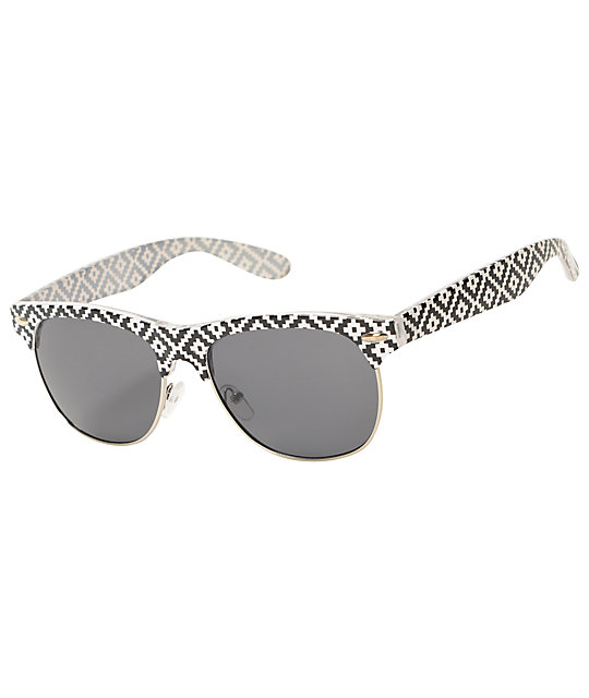 Retro Club Aztec Sunglasses